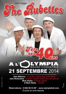Paris Olympia poster